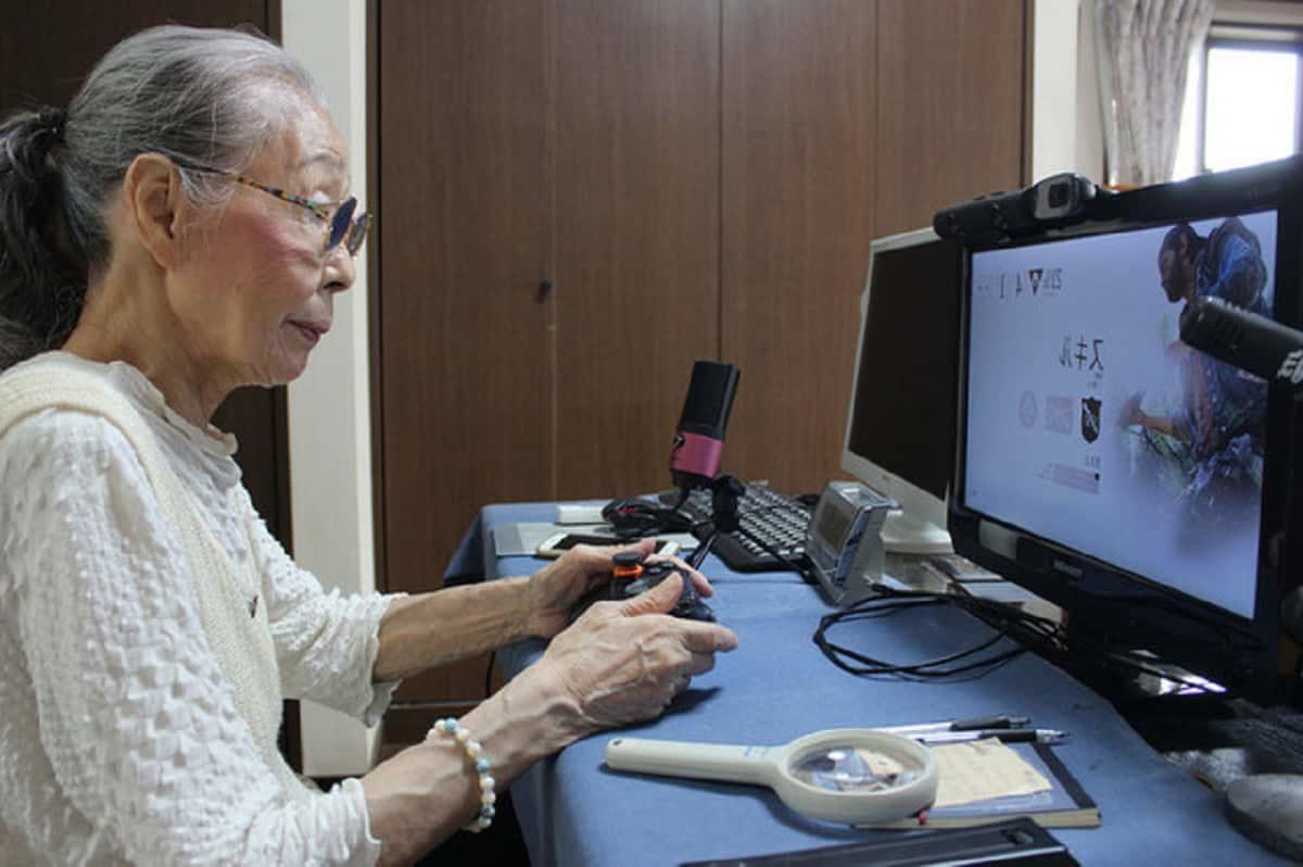 Hamako-Mori-nonna-videogiocatrice-guinness-world-records