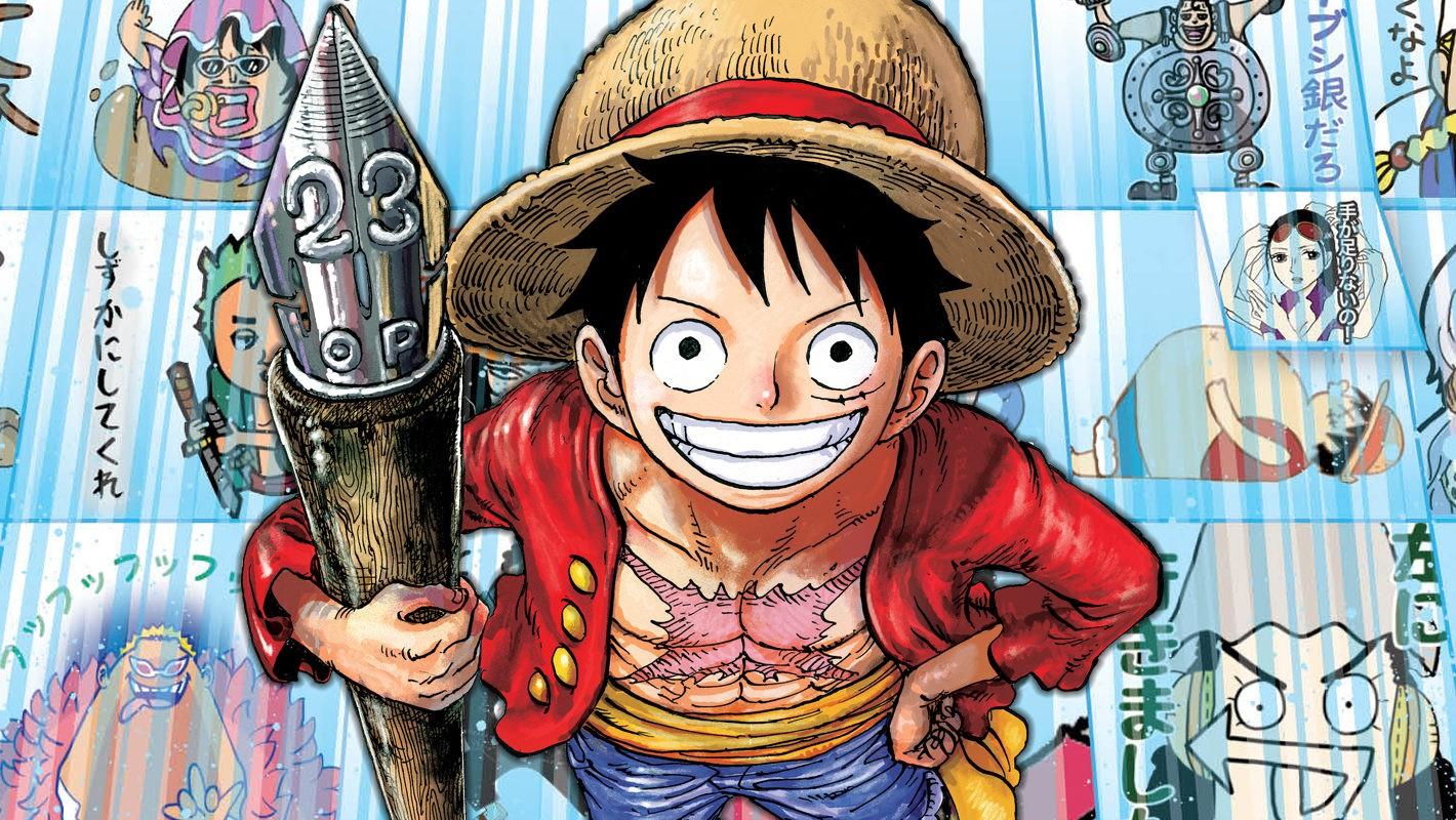 One-Piece-un-video-mostra-Oda che crea gli schizzi del manga