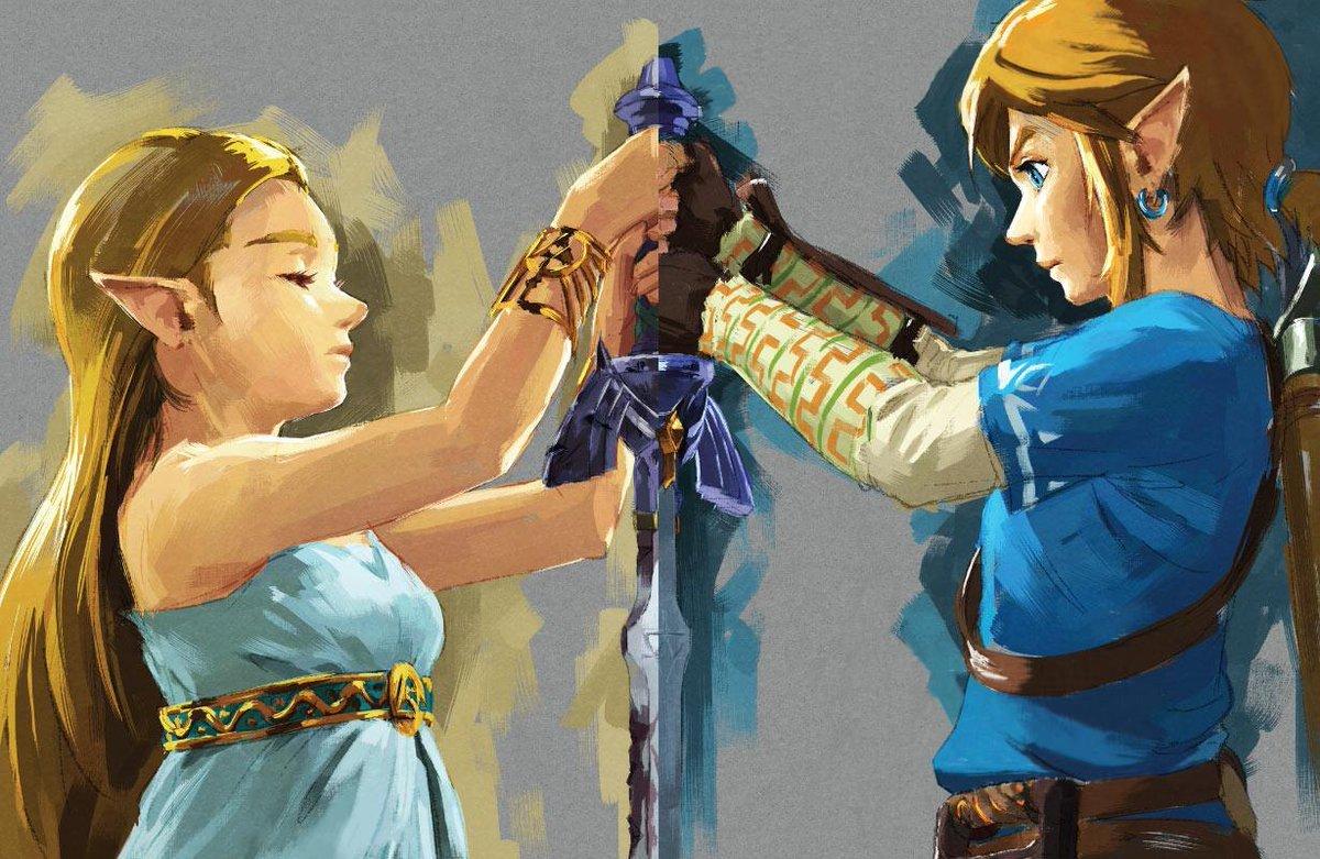 zelda link-sword