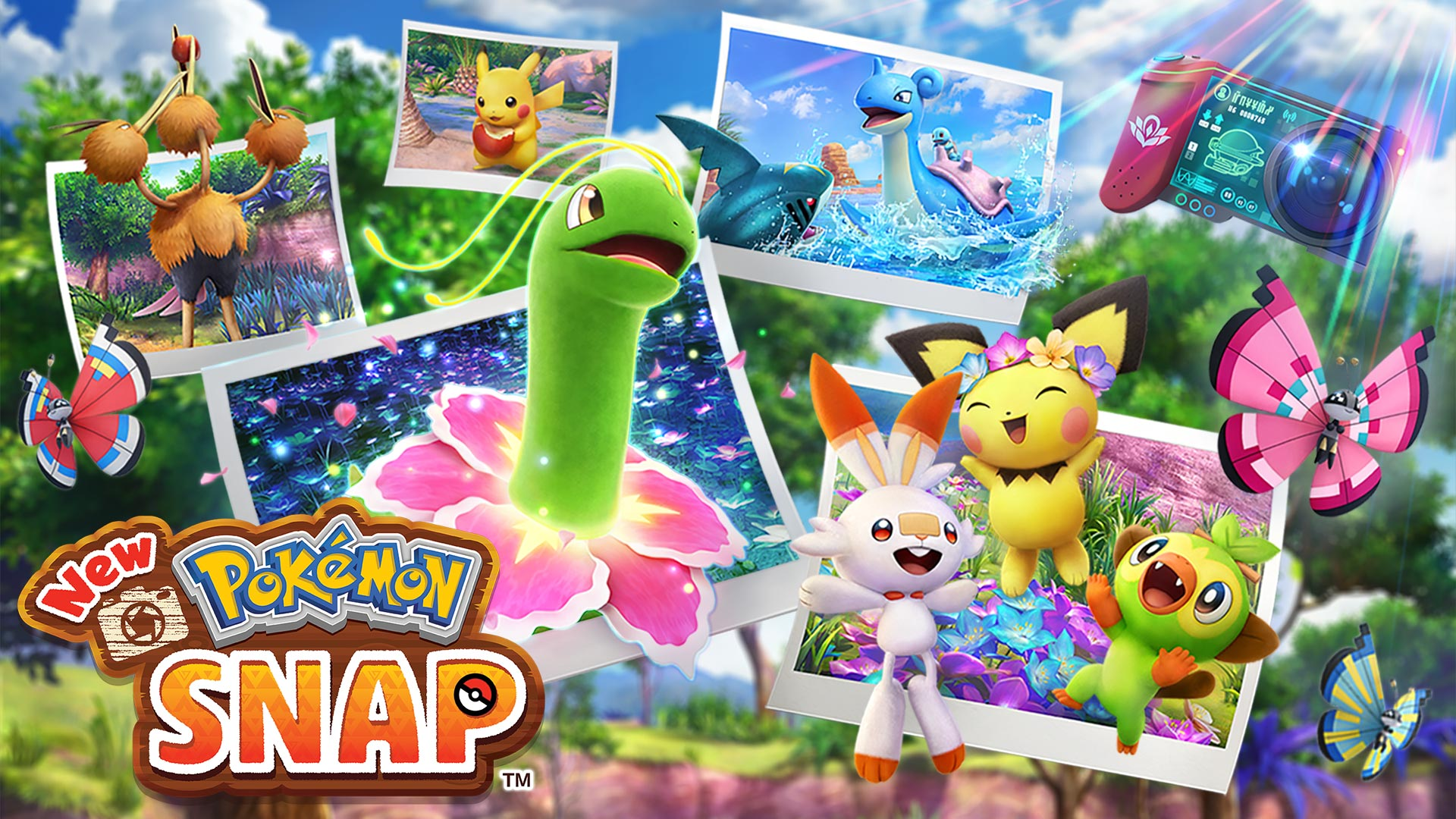 New Pokémon Snap, il nuovo trailer del titolo Game Freak