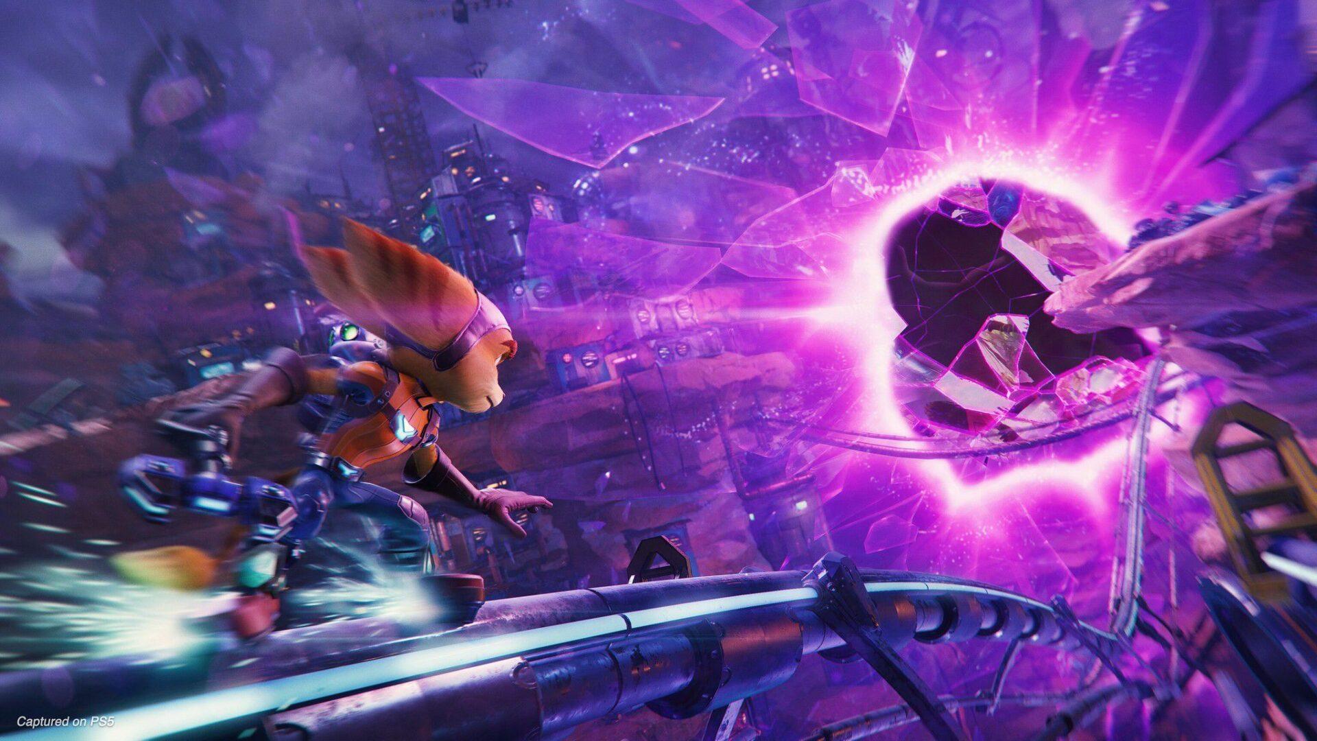 Ratchet & Clank: Rift Apart, il trailer del gameplay