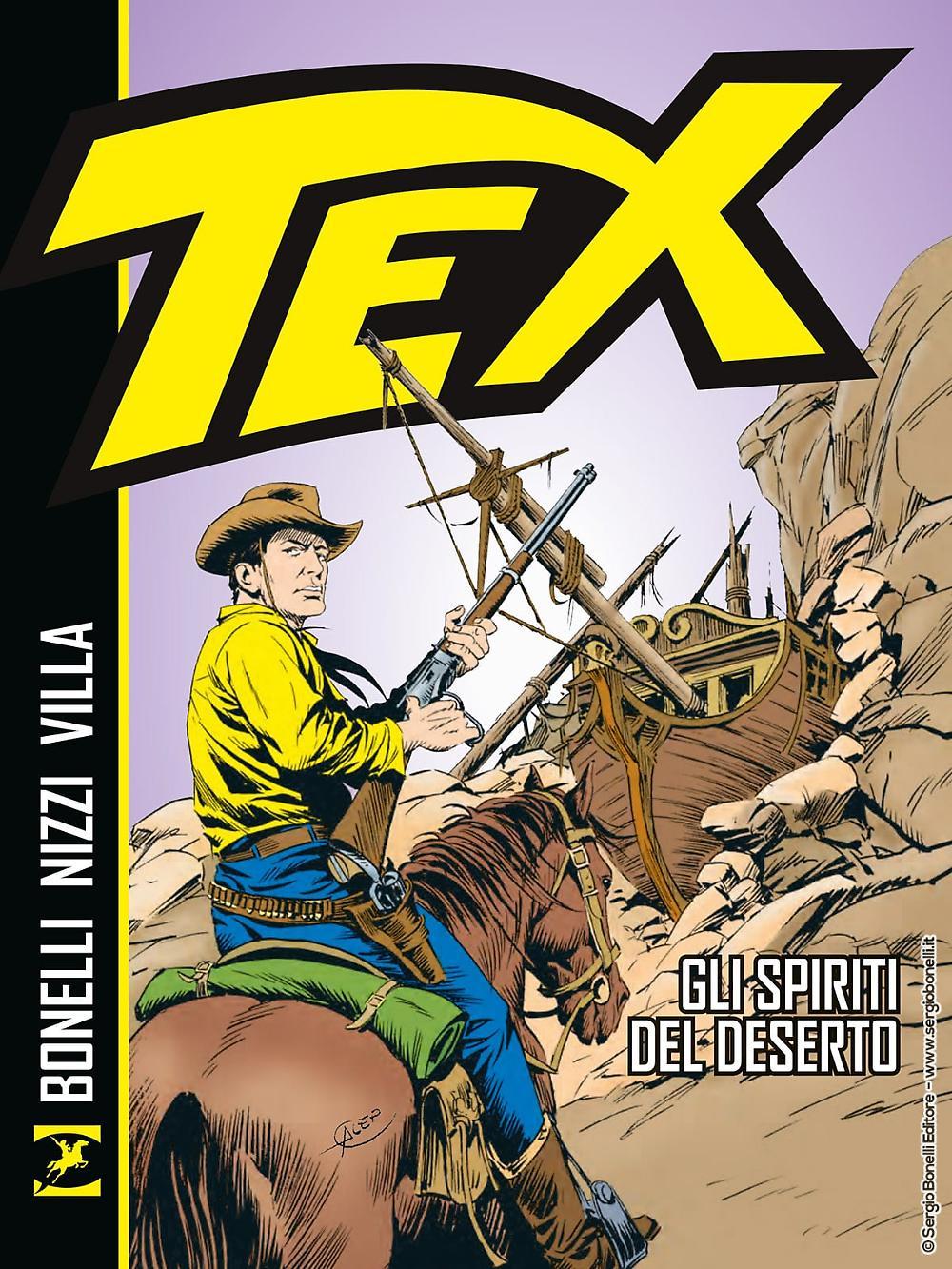 Tex gli spiriti del deserto