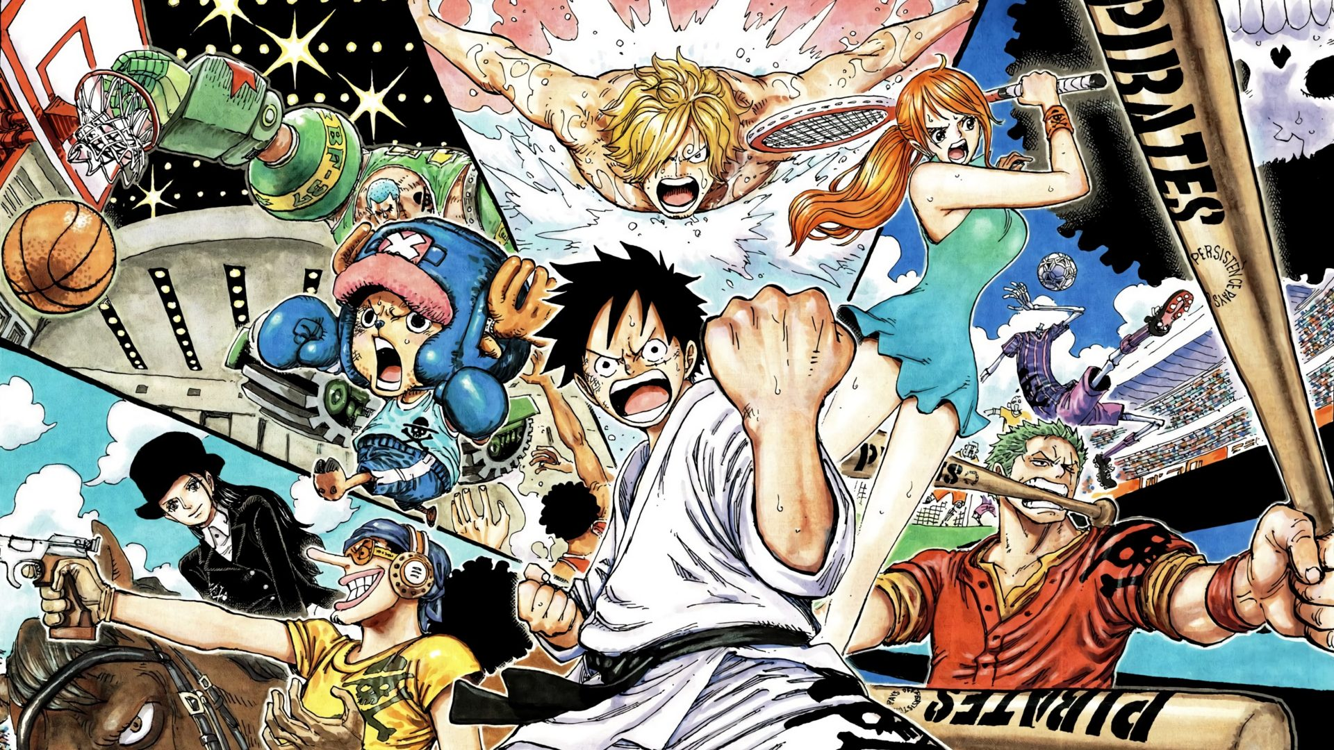 One Piece e Olimpiadi: alcuni atleti omaggiano l'opera di Oda