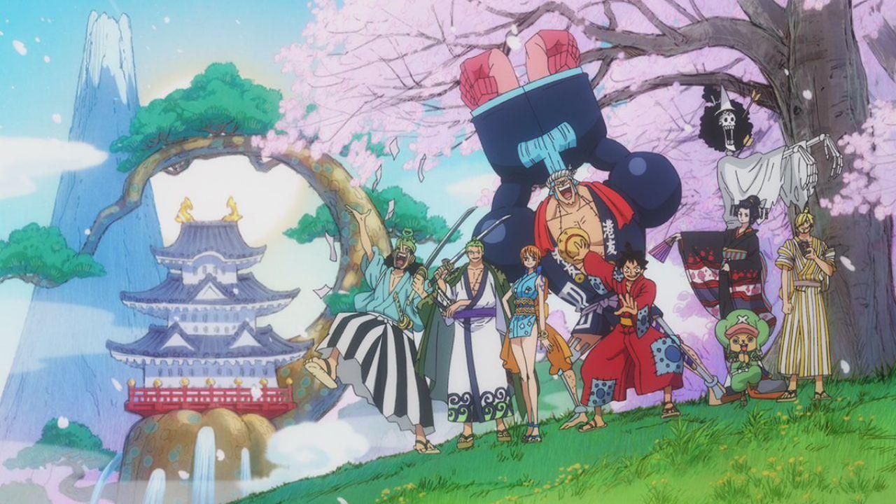 One Piece: ecco la visual per i mille episodi dell'anime